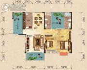 嘉瑞景程2室2厅2卫0平方米户型图
