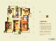 意林・国际公园3室2厅2卫151平方米户型图