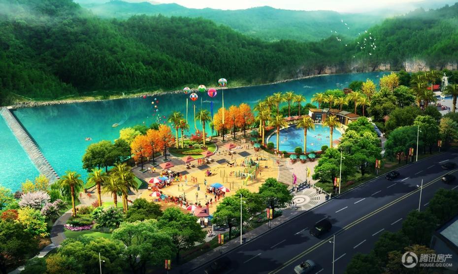 华申滨江国际新城 效果图
