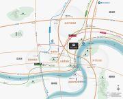 鲁能星城外滩交通图