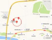 长虹天樾交通图