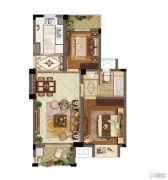 东渡伊顿小镇3室2厅1卫83平方米户型图