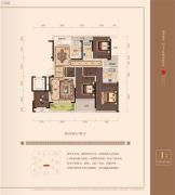 十里风荷4室2厅2卫0平方米户型图