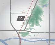 首开龙湖・天奕交通图