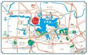 武汉恒大城悦湖公馆交通图