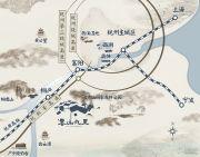 云山九里交通图