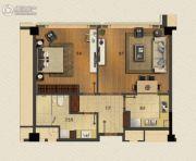 玉兰广场1室1厅1卫100平方米户型图