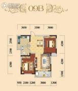 宏维・星都2室2厅1卫0平方米户型图