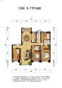 碧桂园・天誉4室2厅3卫0平方米户型图