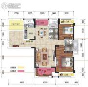 凯旋名门3室2厅2卫119平方米户型图