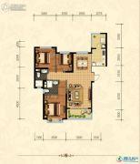 沧州恒大城3室2厅2卫123平方米户型图