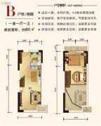 合生君景湾1室1厅1卫0平方米户型图