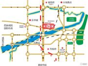 龙安居国际商贸中心交通图