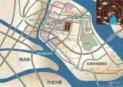 越秀滨海御城交通图