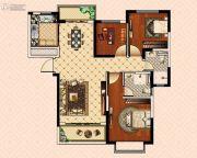 南昌恒大御景(原恒大帝景)3室2厅2卫117平方米户型图