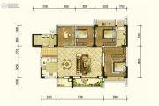 北京城建龙樾熙城4室2厅2卫123平方米户型图