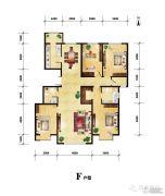 润枫领尚4室2厅2卫175平方米户型图