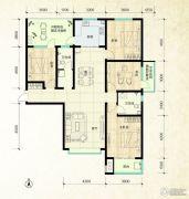 鑫界9号院4室2厅2卫165平方米户型图