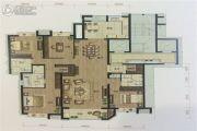 依云郡小区4室2厅3卫195平方米户型图