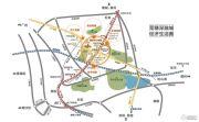 民盈・国贸中心交通图