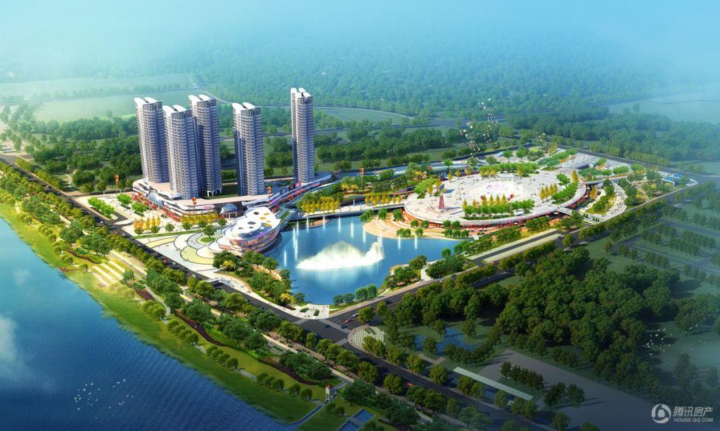 湘潭县天易江湾广场房源在售 均价6200元/平