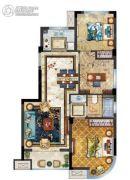中梁香缇公馆3室2厅1卫84平方米户型图