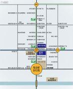 龙湖佰乐街交通图