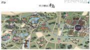 新城上坤樾山半岛交通图