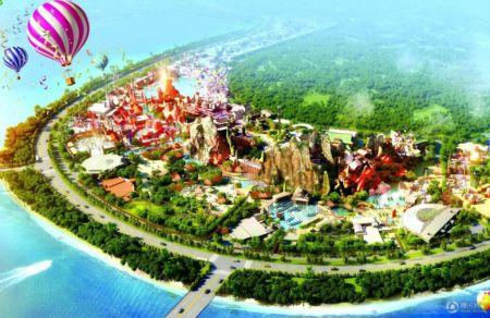 中国海南海花岛