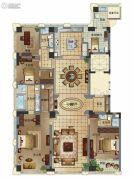维科月湖花园5室2厅4卫270平方米户型图