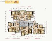 合景新鸿基泷景3室2厅2卫96--113平方米户型图
