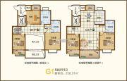 茂源景城5室2厅3卫0平方米户型图