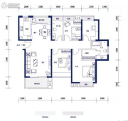 明发・高榜新城4室2厅2卫0平方米户型图