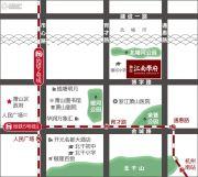 融信江南学府交通图