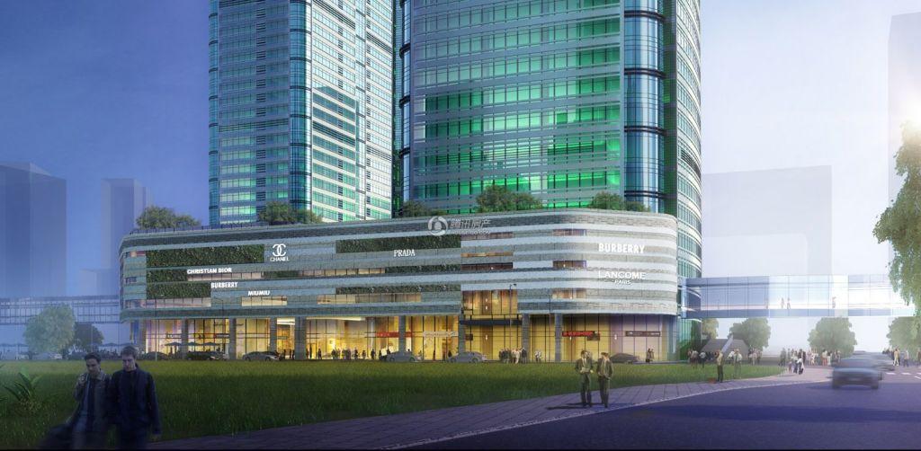中国铁建大厦效果图