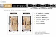 汉口公馆・远洋心汉口二期0室0厅0卫0平方米户型图