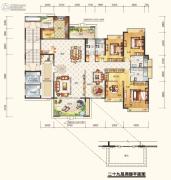 鼎峰国汇山3室3厅4卫0平方米户型图