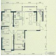 罗马景福城3室2厅2卫132平方米户型图