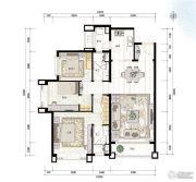 青岛星河湾3室2厅0卫131平方米户型图