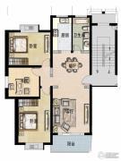 福宇凤凰华庭3室2厅1卫114平方米户型图