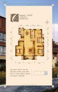 金地首府3室2厅2卫140平方米户型图