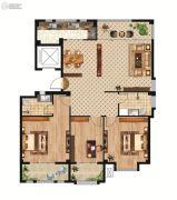 中正公馆3室2厅2卫143--155平方米户型图