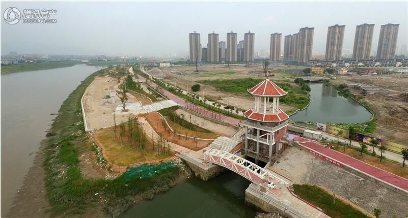木兰溪实景图