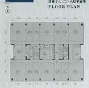 保利中誉广场70--1500平方米户型图