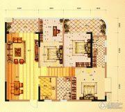 未来城11号4室2厅2卫143平方米户型图