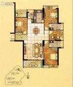 金紫世家4室2厅3卫158平方米户型图