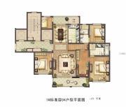 德诚翠湖湾4室2厅2卫171平方米户型图