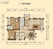 中海黄金海岸291平方米户型图