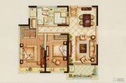 中金海棠湾2室2厅1卫0平方米户型图