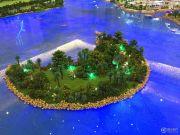 金茂绿岛湖沙盘图